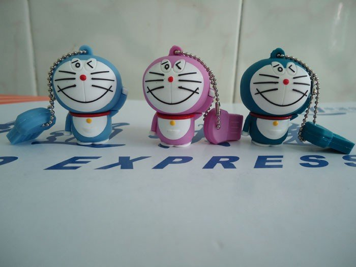 WHOLESELL! 8GB Cute cat Doraemon USB FLASH DRIVE! usb flash memory, usb flash disk,usb disk(China (Mainland))