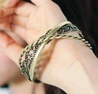Classical Bronze-coloured 3rings Bracelet