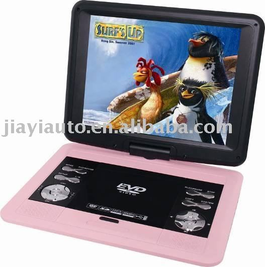 12.1inch portable dvd player with TV /game/ USB SD slot(China (Mainland))
