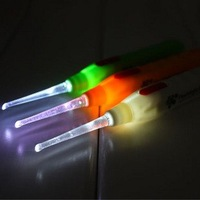 EMS Free Shipping wholesale good quality 20pcs/lot  Flashlight Earpick
