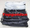 Free shipping 2012 Good Quality Tennis net with steel wire rope cable. Material: PP Braided Knotted Net.Net Size: 12.8m*1.08m