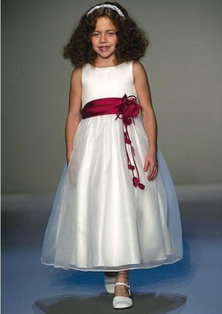 Little girl's dress/  children's gown/  flower girl dress