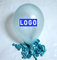 Wholesale balloon, latex balloons, logo balloons, with your logo printing, pearlized balloons,10 inches