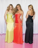 Free shipping A-Line Floor-Length Sleeveless  Beading  Prom Pageant Dress /Formal dress 132