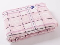 100% Cotton quilt/blanket /coverlet,160*200cm,Soft/Comfortable/Machine washable