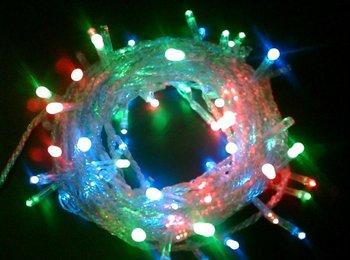 [Super Price]led christmas lights C6/C7/C9 Wholesale 10M Multi-color LED String Xmas Light Free shipping
