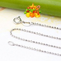 Silve Wonderful Jewelry free shipping silver chains, 925 sterling silver chain necklaces, silver necklaces SC007