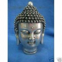 Tibet silver statue main Buddha by EMS 100% free shipping