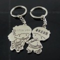 Free Shipping wiht EMS wholesale keychain/couple keychain/20couple/lot/110763 lovers boys and girls born keychains