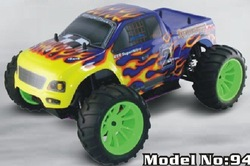 94108 1/10TH SCALE 4WD NITRO POWERED OFF-ROAD MONSTER TRUCK(China (Mainland))