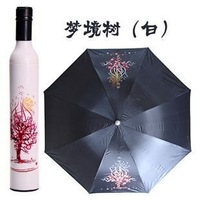 Free Shipping wiht EMS 20pcs/lot tree wine botte  umbrella,Bottle umbrella,wine umbrella,gift