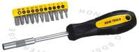 free shipping screwdriver bits set ,6150CR-V steel,BOSI TOOLS