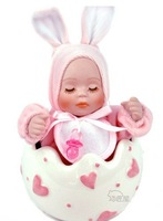 Eggshell baby sleeping baby swing music box