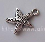 Free Shipping Tibet Silver Nice Star Charm pendants