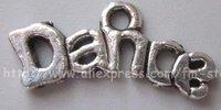 Free Shipping Tibet Silver Nice Dance  Charm pendants
