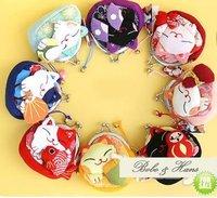 Cute cat Portable Wallet / key holder/ coin purse/Japan Style /Wholesale