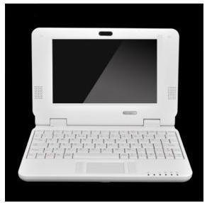 WHOLESALE gift &amp; free shipping- 7&quot; Mini Laptop Netbook Computer Notebook WIFI WindowsCE(China (Mainland))