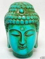 Chinese turquoise carve buddha statues free shipping