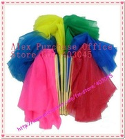 free shipping wholesale brand new dance fan veil/belly dance fan veil/chiffon fan veil/belly dance wear