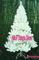 "59"" (150cm) ARTIFICIAL WHITE CHRISTMAS TREE ALASKAN PINE Xmas Christmas Tree 1 piece +(Drop Shipping Support!) &Free Shipping"