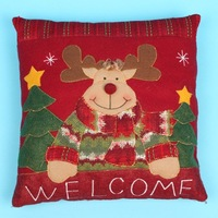 christmas deer Clasp Pillow