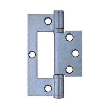 stainless steel flush hinge 102 x 72.5 x 2.5mm