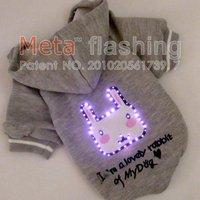 META led Flashing Dog Accessories, Designer Dog Carriers  wholesale 10pcs/lot