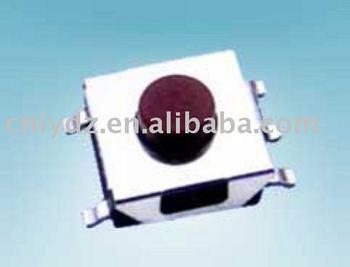6x6 smd interruptor de contacto / interruptor de tacto pin / interruptor de botón miniatura LY - A06 - D6