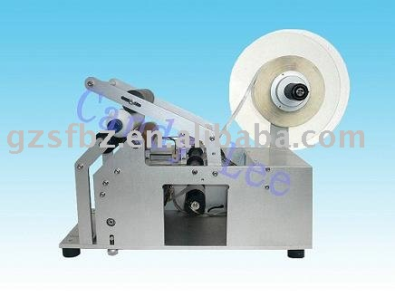 Semi-automatic adhesive labeling machine(China (Mainland))
