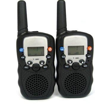Christmas Gift Brand New Twintalker 0.5W UHF Auto Multi-Channels Two Way Radios Walkie Talkie T-388
