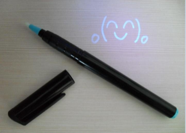 Invisible UV Marker Novelty for anti-counterfeiting use CH6004(China (Mainland))