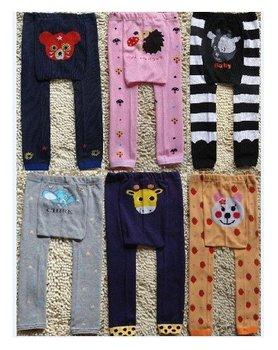 Wholesale Baby Romper Pajamas sweet kids Leggings toddler Tights pants Baby leg warmer babys PP Pants