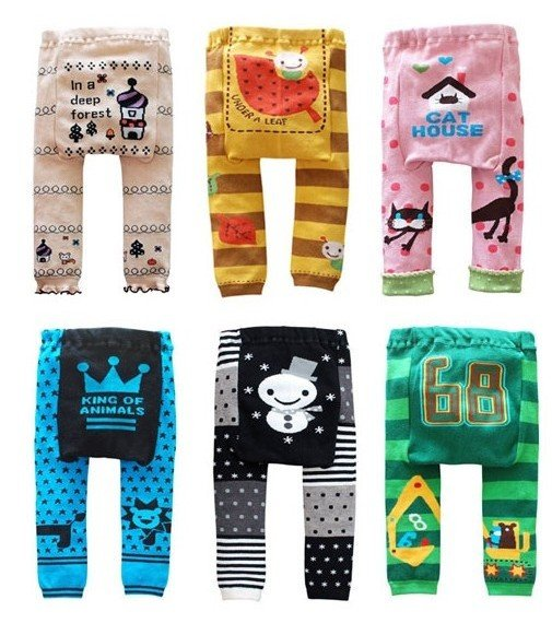 Wholesale Baby Romper Pajamas sweet kids Leggings toddler Tights pants Baby leg warmer babys PP Pants(China (Mainland))