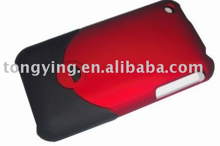 Wholesale+Special Offer+Plastic Hard Back Case for iPhone 3G+free shipping(Hong Kong)