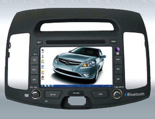 """7 """"PC do carro para Hyundai Elantra com GPS/Radio/DVB-T/Mp5/Bluetooth(China (Mainland))"""