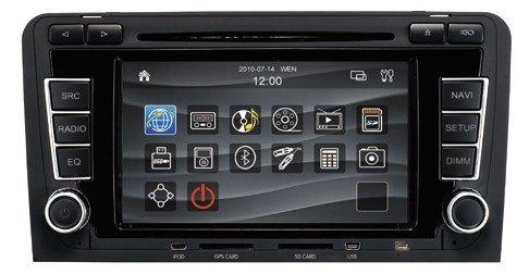Audi a3 car dvd player with gps navigation radio system(China (Mainland))