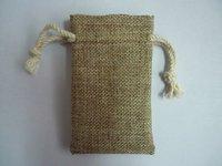 free shipping by DHL high quality jute drawstring bag jewelry pouches 200pcs/lot