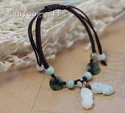 Natural Jade pulseira presente de aniversário Atacado amante romântico 24pcs um lote Frete Grátis(China (Mainland))
