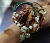 Wholesale New Fashion Women's Natural Jade Bracelets Bangle  Jewlery Birthday Gift 24pcs a Lot Free Shipping