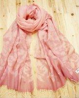 lye201036 100% wool scarf  as 195cm*65cm,including fringe,muslim cashmere shawl,islamic cashmere shawl accept