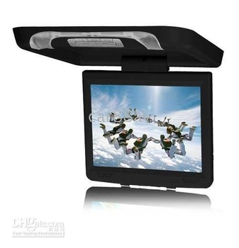 Car Roof-Mounted and Flip-Down Monitor with DVD/TV/IR/FM/USB/SD/MP3/ MP4 For Universal car