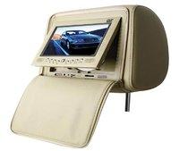 Headrest car DVD player with DVD,VCD,CD,MP3,MP4,USB,SD- ZP-758D