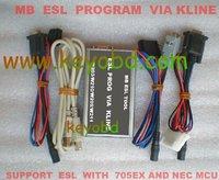 MB ESL PROGRAMMER MERCEDES-BENZ ESL PROGRAM VIA K LINE SUPPORT ESL WITH 705EX AND NEC MCU  with 40G-HDD
