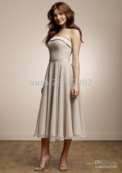 2010 hot styles of bridesmaid dress / / party dress / customize all colors and sizes(China (Mainland))