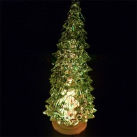 10pcs/lot freeshipping 16cm tall Christmas tree  christmas decoration light, Christmas Gift,