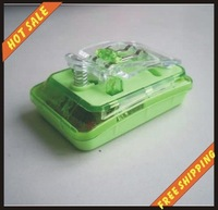 Free shipping--LED Shining 7 colours Mobile Cell Phone Battery Universal Charger