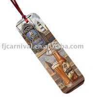 Christmas gift / gift bookmark for book / with printing / Free customer design + Free shipping