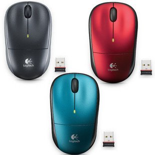 Logitech M215 2.4GHz Wireless Optical Scroll Wheel Mouse Nano receiver Free shipping!(China (Mainland))