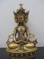 from Tibetan Buddhist bronze VAIROCANA, Herr der Mitte buddha statue 23 cm 1.5 KG  free shipping