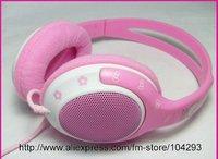 Free shipping 10pcs/lot Hello Kitty Stereo Headphone/ MP3 earphone/ NO.-2003